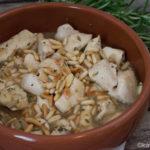 Tapas - Zitronen-Rosmarin Hähnchen in Weißwein Jus