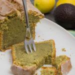 Saftiger Avocado-Zitronen Kuchen