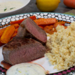 Lamm mit orientalischen Karotten und Couscous