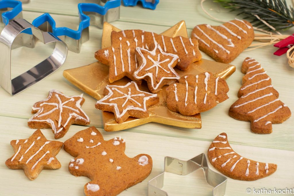 Weihnachtsbäckerei - Fake Lebkuchenplätzchen