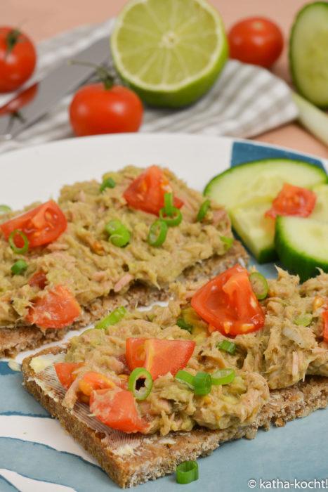 Thunfisch-Avocado-Aufstrich