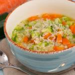Schnelle Gemüse-Nudelsuppe