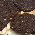 Cashew-Banane-Schokoladen Cookies