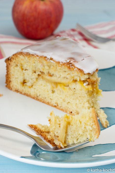 Gedeckter Apfelkuchen - mein Lieblingsrezept