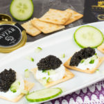 Leichte Kaviar-Cracker mit Attilus Kaviar