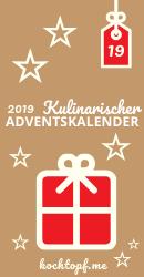 Kulinarischer Adventskalender 2019 - Tuerchen 19