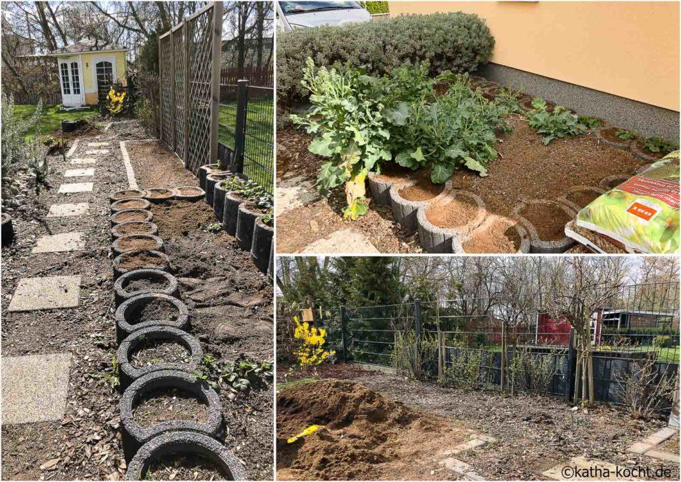 Garteneinblick März 2020