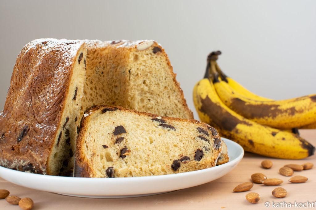 Schoko-Banane-Hefegugelhupf