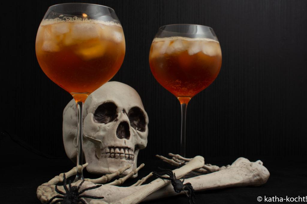 Halloween - Hexencocktail - Weincocktail