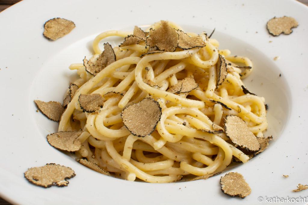 Trüffelpasta - Pici mit Trüffel