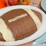 Footballkuchen – Schokoladenkuchen zum Superbowl