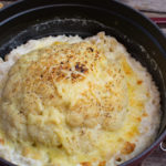 Gebackener Blumenkohl mit Käse-Makkaroni